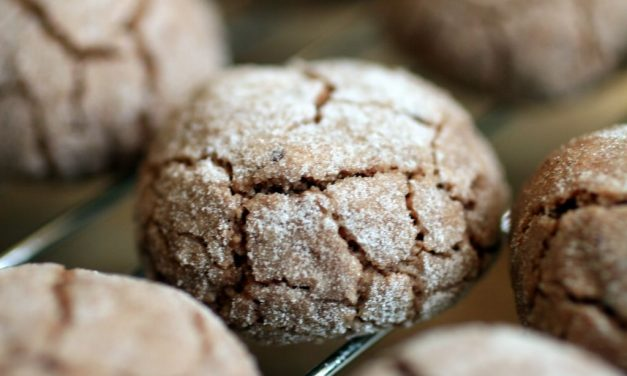 Chewy Chocolate Amaretto Cookies