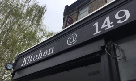 Kitchen at 149 – Lovely Light Lunch, Holloway, London