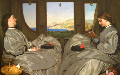 The Travelling Companions, Augustus Leopold Egg 1862 – Prescient Oil-on-Canvas