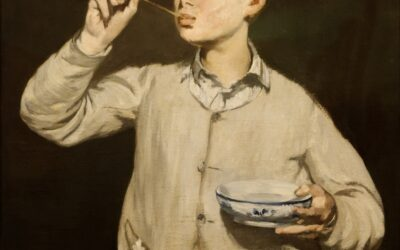 Boy Blowing Bubbles – Édouard Manet 1867