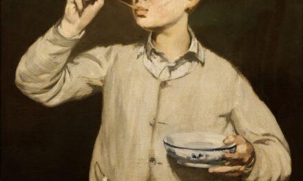 Boy Blowing Bubbles – Édouard Manet 1867