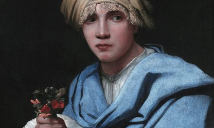 Boy in a Turban Holding a Nosegay – Michael Sweerts