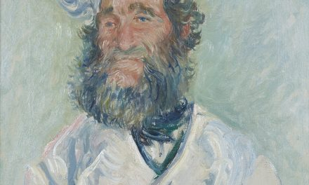 Monet, Portrait of Père Paul – Impressionist Triumph 1882