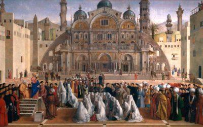 St. Mark Preaching in Alexandria –  Gentile and Giovanni Bellini, Astounding Ecclesiastical Work