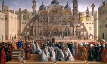 St. Mark Preaching in Alexandria –  Gentile and Giovanni Bellini, Astounding Ecclesiastical Work