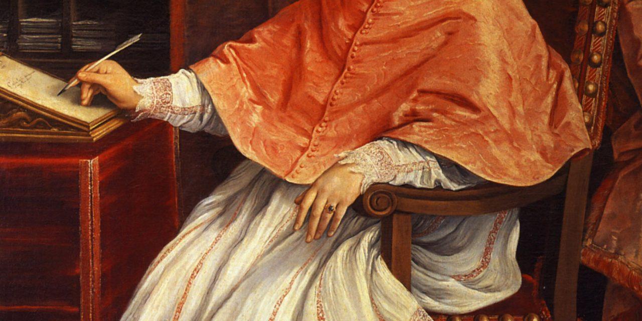Guido Reni – Portrait of Cardinal Bernardino Spada, Ecclesiastic Classicism