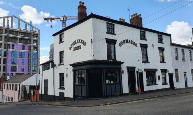 Gunmakers Arms – Powder Keg of a Pub – Birmingham