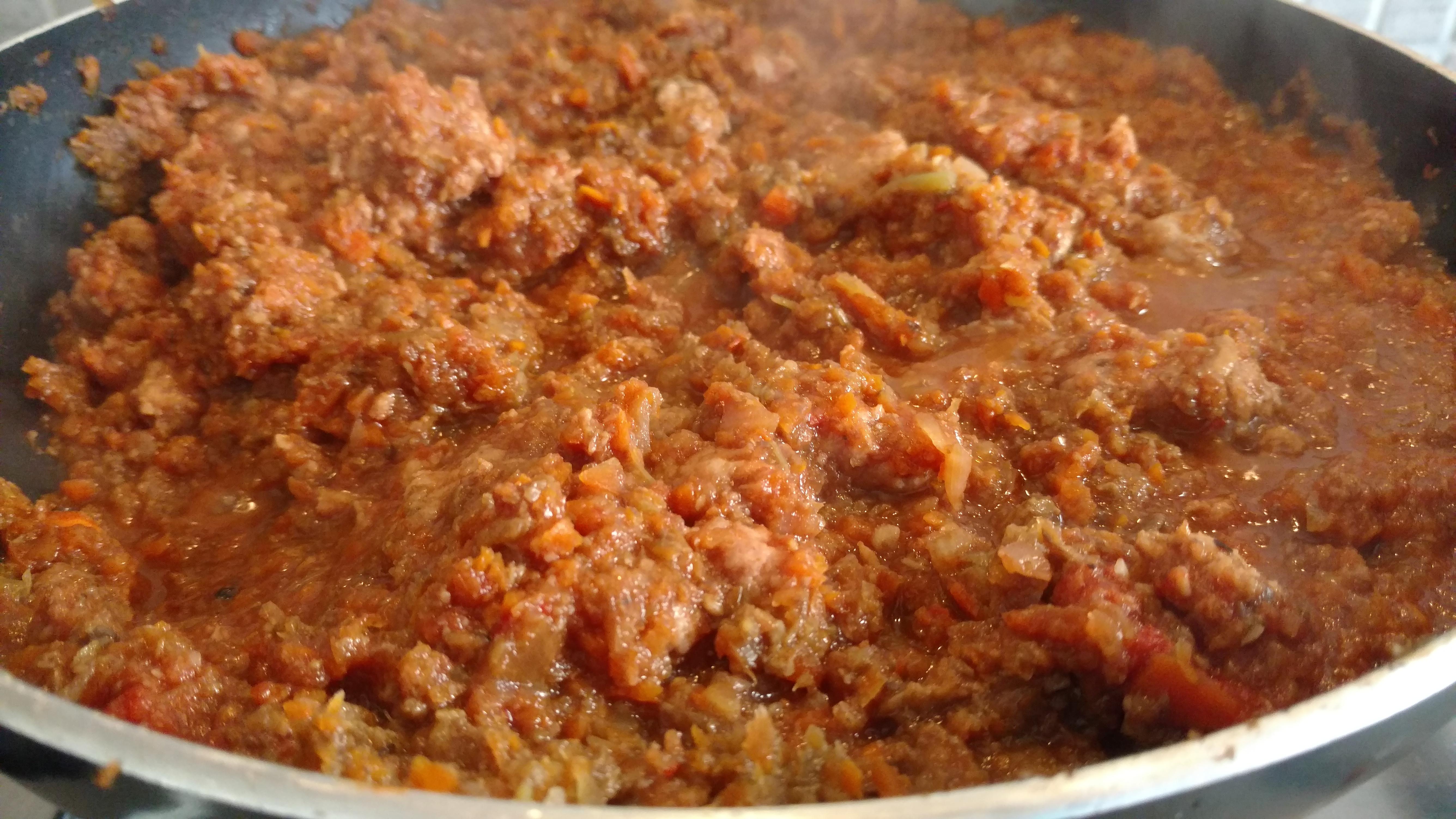 Recipe – Porc and mushroom Ragù