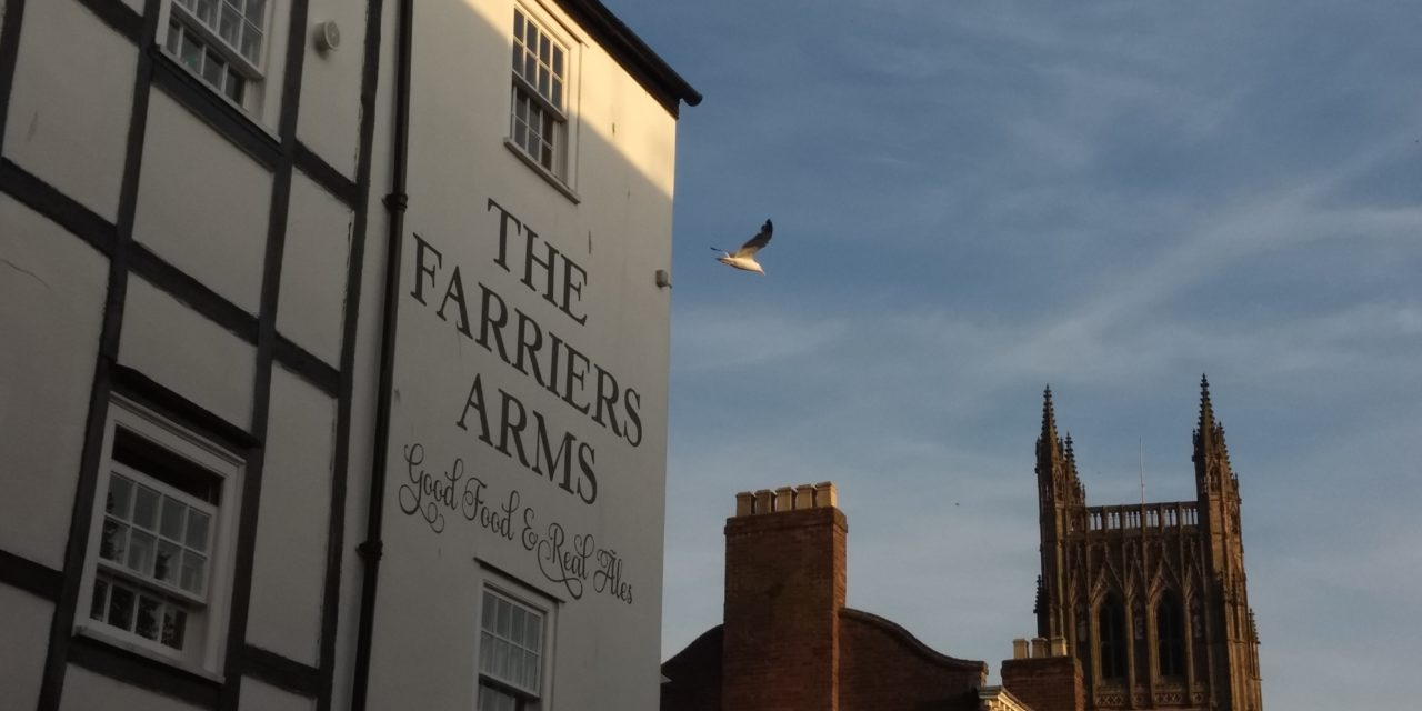 Farrier's Arms – Excellent Pit Stop, Worcester