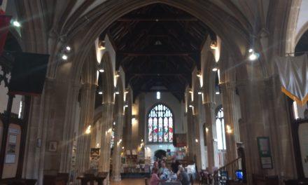 St Peter's Church, Explosive Ecclesiastical Lunch, Marlborough