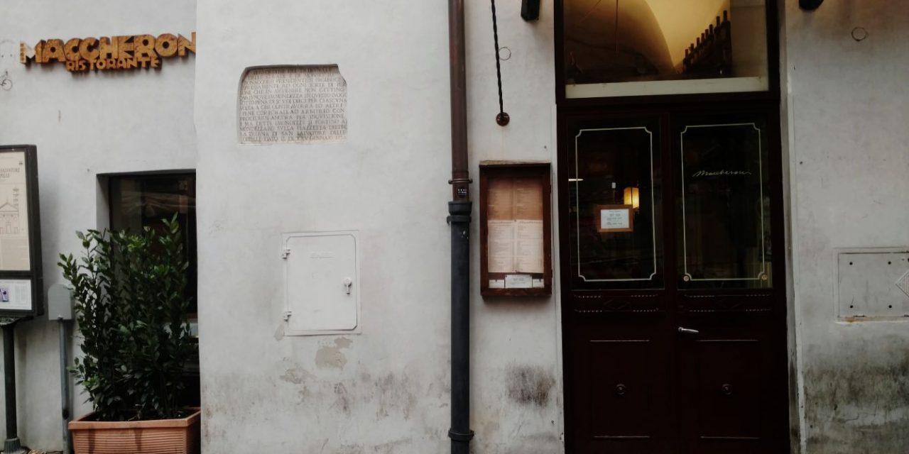 Maccheroni Rome – Unjustly Good Carbonara