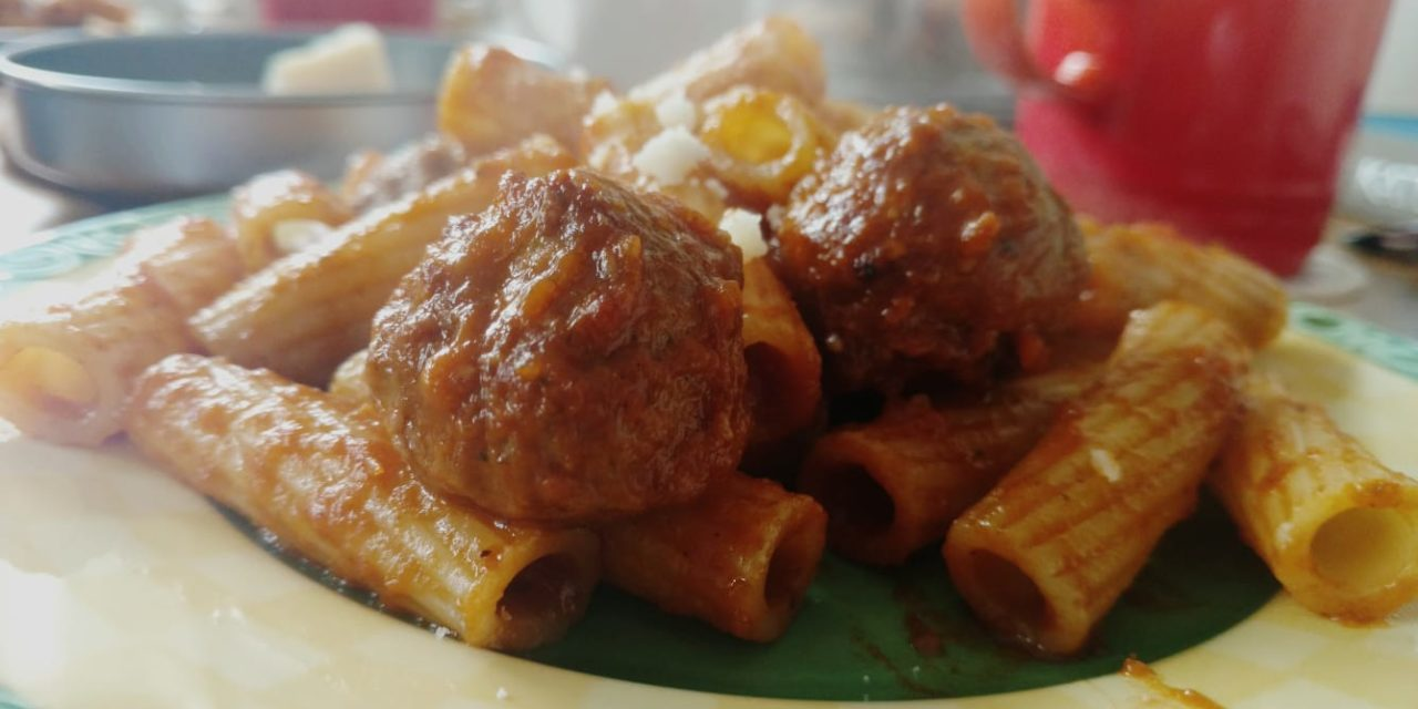 Recipe – Meatball Marinara Pasta