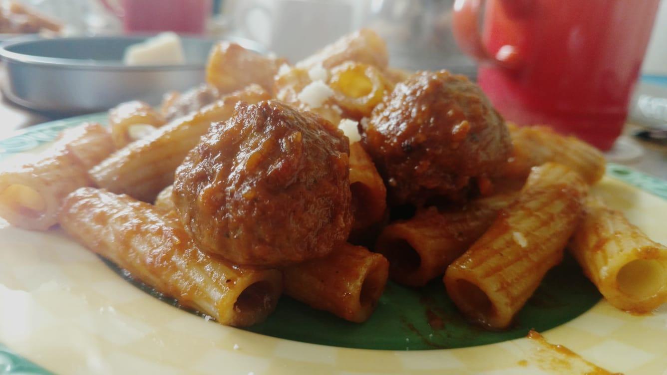 Recipe – Meatball Marinara Pasta