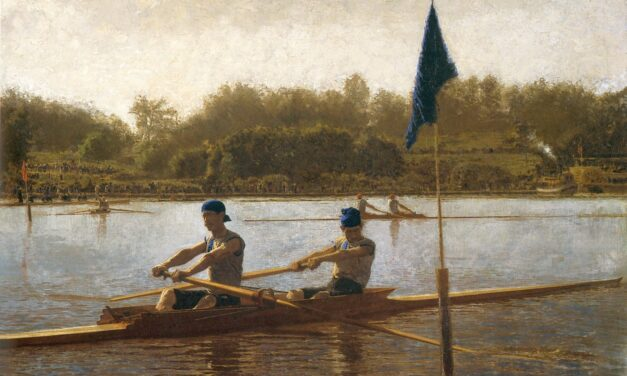 The Biglin Brothers Turning the Stake – Thomas Eakins – Realist Excellence