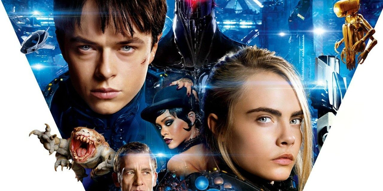 Valerian and the City of a Thousand Planets – Astounding Sci-Fi, Netflix