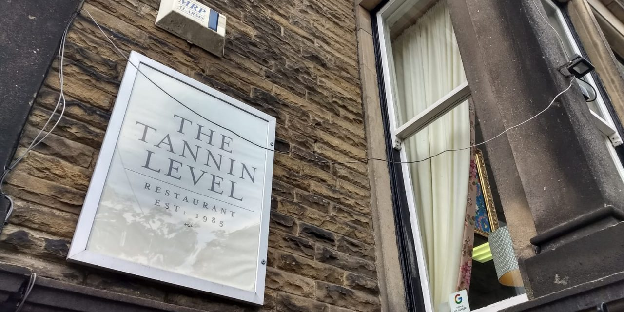 The Tannin Level – Staggering Dining, Harrogate
