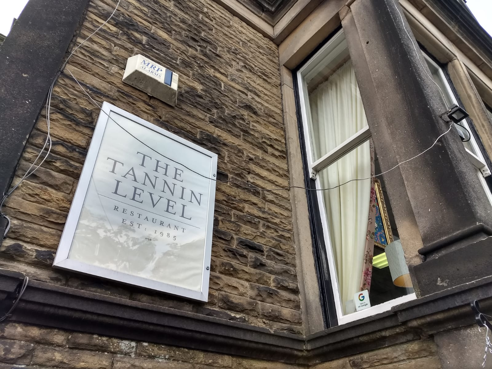 The Tannin Level – Staggering Dining, Harrogate