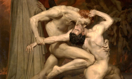 Dante and Virgil – Hellish Bouguereau Masterwork