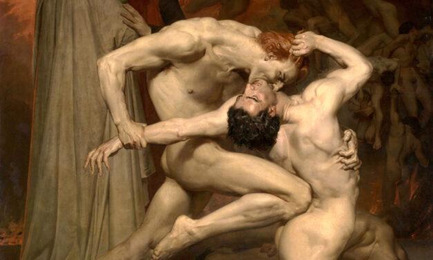 Dante and Virgil – Hellish Bouguereau Masterwork