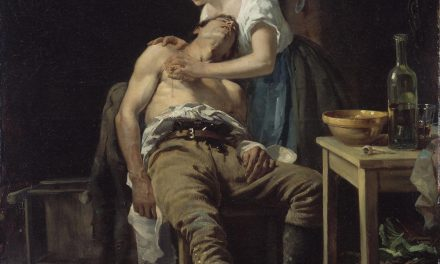Henry Jones Thaddeus – The Wounded Poacher 1881