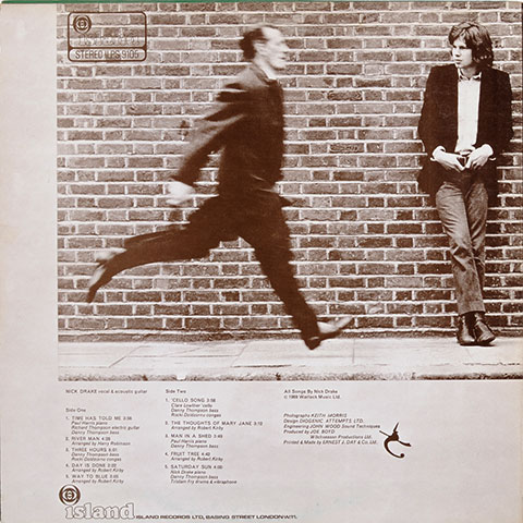 Nick Drake – Five Leaves Left – AOTM May 2019