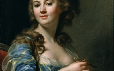 Self-Portrait Marie-Gabrielle Capet – Composition in Isolation