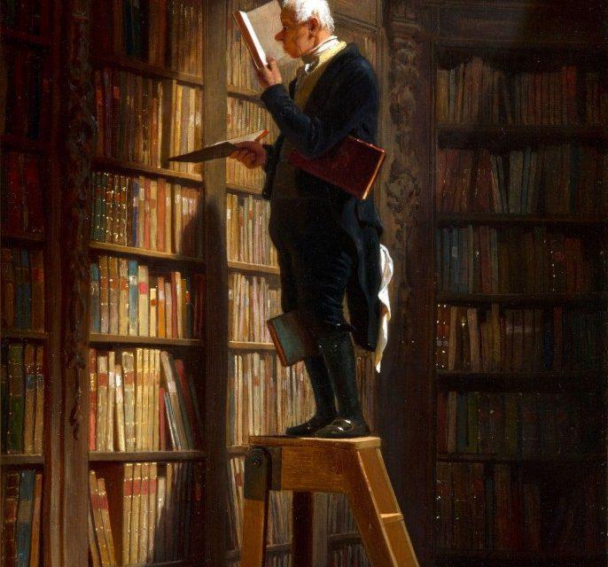 The Bookworm – Carl Spitzweg, Prescient Art