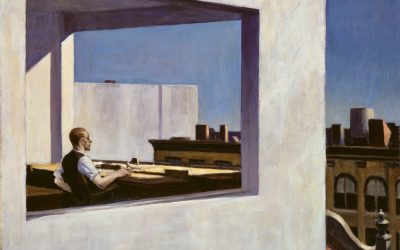 Office In A Small City, Edward Hopper – Gorgeousity in Isolation