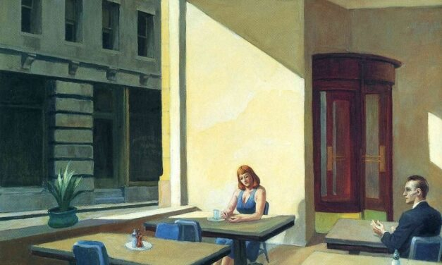Sunlight in a Cafeteria – Edward Hopper